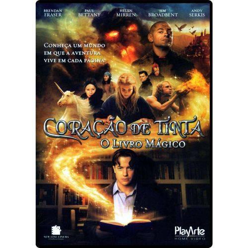 DVD - Coração de Tinta - o Livro Mágico