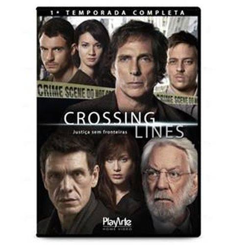 Dvd- Crossing Line - 1 Temporada Completa