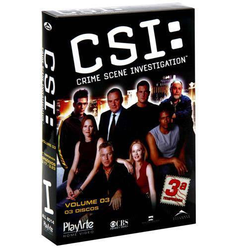 Dvd - Csi - 3ª Temporada Vol. 3