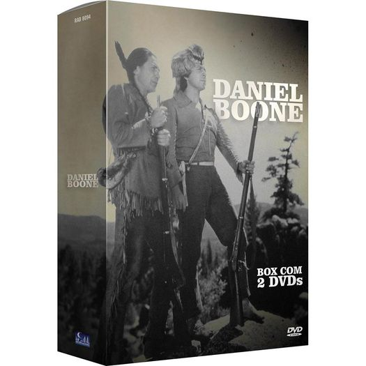 DVD Daniel Boone (2 DVDs)