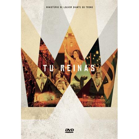 DVD Diante do Trono tu Reinas
