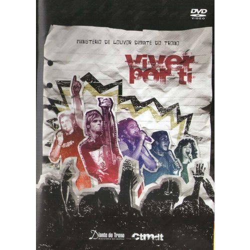 Dvd Diante do Trono - Viver por Ti