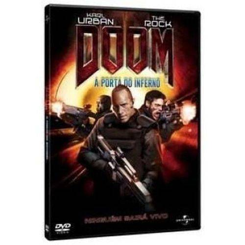 DVD Doom - a Porta do Inferno - Dwayne Johnson