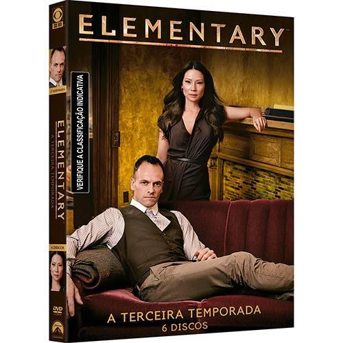 DVD - Elementary - a Terceira Temporada (6 Discos)