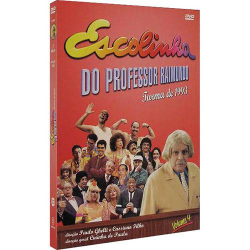 Dvd Escolinha do Professor Raimundo - Turma 1993