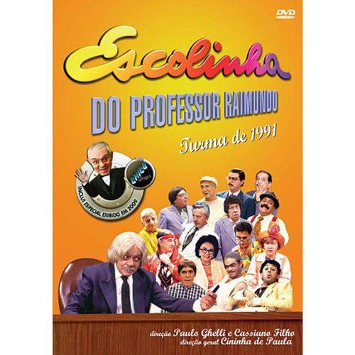DVD Escolinha do Professor Raimundo - Turma de 1991
