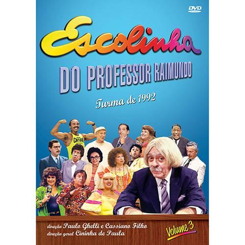 DVD Escolinha do Professor Raimundo - Turma de 92