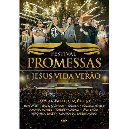 DVD Festival de Promessas e Jesus Vida Verão