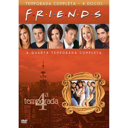 DVD Friends - 4ª Temporada (Box 4 DVDs)