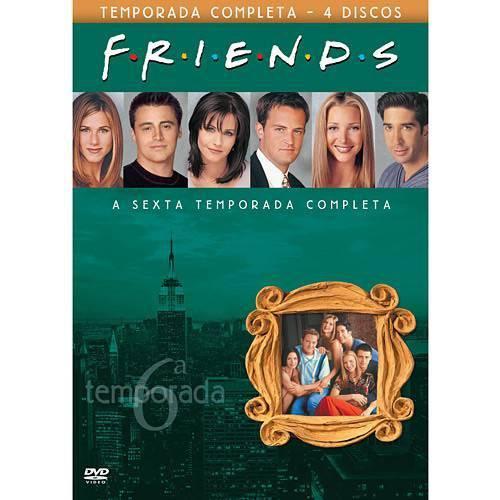 DVD Friends 6ª Temporada (4 Discos)