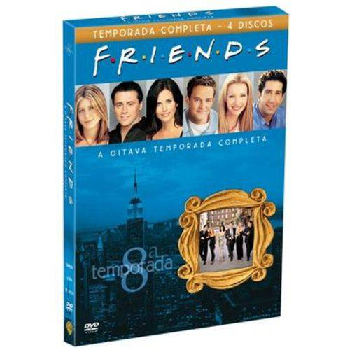 DVD Friends - 8ª Temporada - 4 Discos