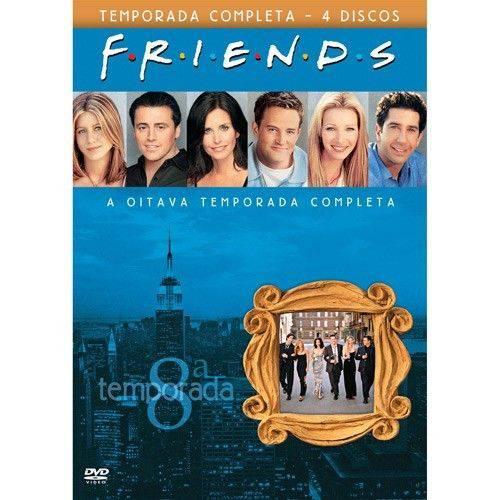 DVD: Friends 8° Temporada Completa (4 Discos)