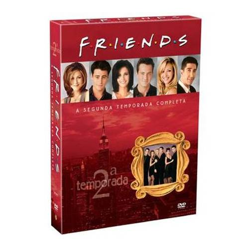 DVD Friends - 2ª Temporada (4 Discos)