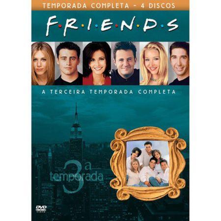 DVD Friends - 3ª Temporada (Box 4 DVDs)