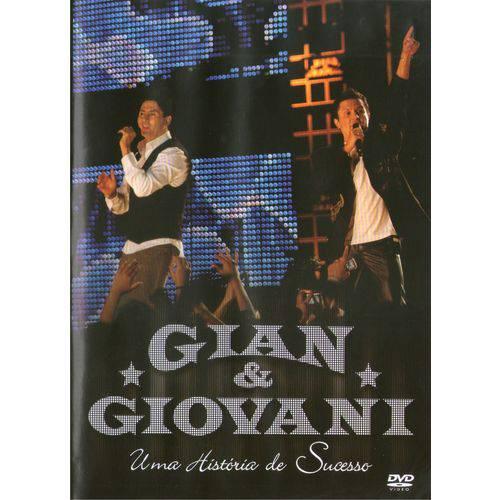 DVD Gian e Giovani um História de Sucesso Original