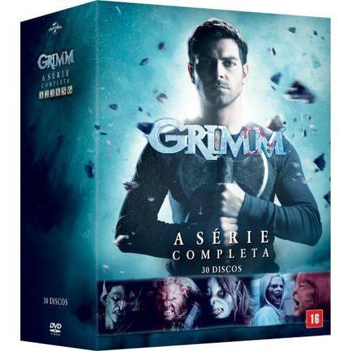 DVD Grimm - 1ª a 6ª Temporada - 30 Discos