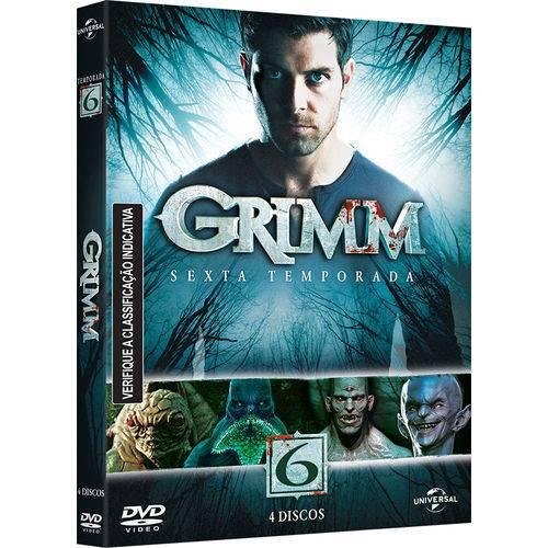 DVD - Grimm - 6ª Temporada