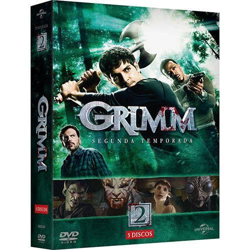 Dvd - Grimm - 2ª Temporada Completa (5 Discos)