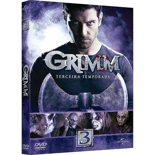 DVD - Grimm: 3ª Temporada