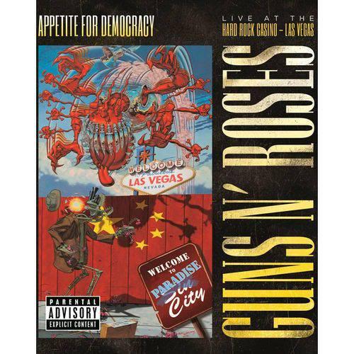 DVD Guns N' Roses - Appetite For Democracy