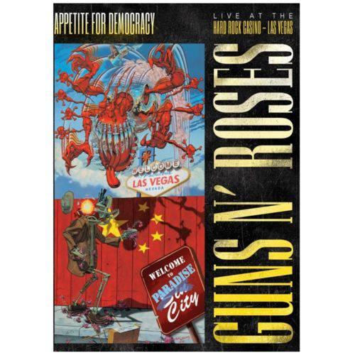DVD - Guns N' Roses: Appetite For Democracy