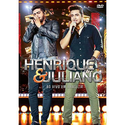 DVD - Henrique & Juliano - ao Vivo em Brasília
