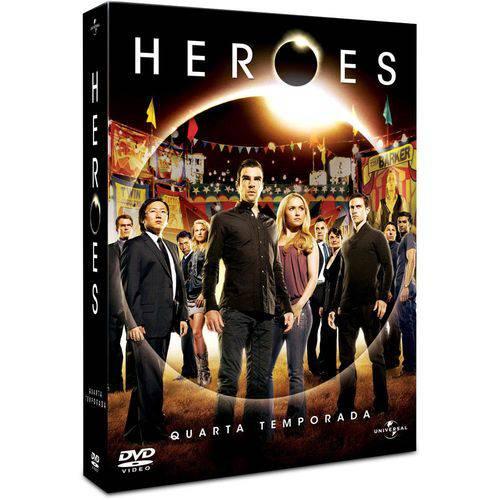 DVD - Heroes - 4º Temporada (6 Discos)