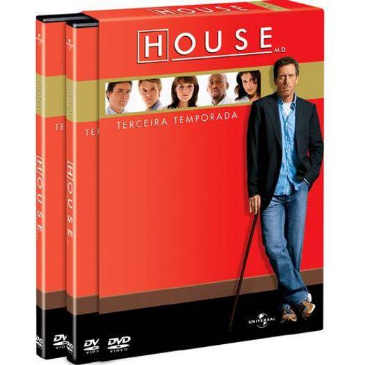 DVD House - Terceira Temporada (6 DVDs)