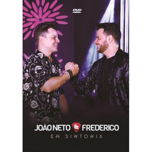 DVD João Neto & Frederico - em Sintonia