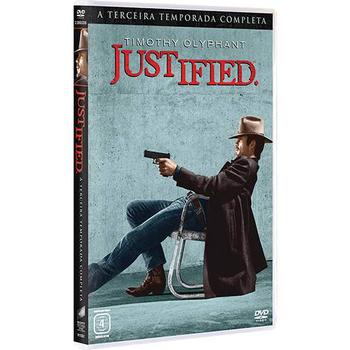 DVD - Justified - 3ª Temporada (3 Discos)