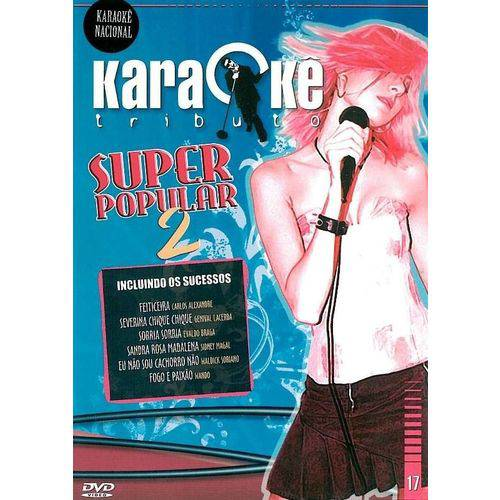 Dvd Karaokê Tributo - Super Popular 2