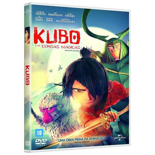Dvd Kubo e as Cordas Mágicas