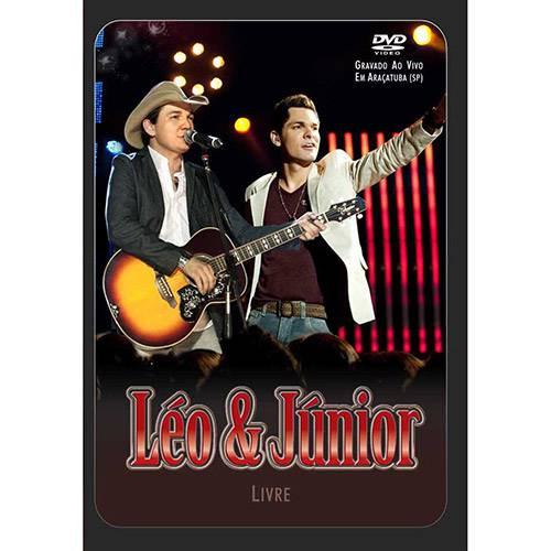 DVD Léo & Júnior - Livre