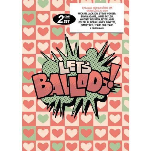 Dvd Let's Ballads - Diversos Intern (dvd Duplo)