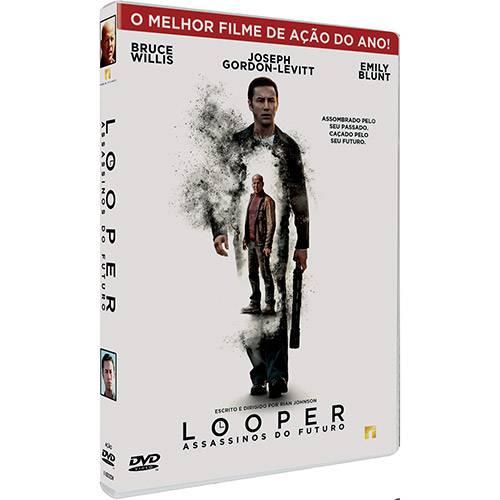 DVD - Looper - Assassinos do Futuro