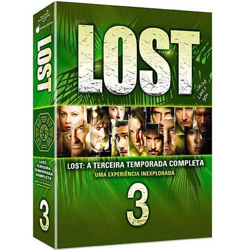 DVD Lost 3ª Temporada (7 DVDs)