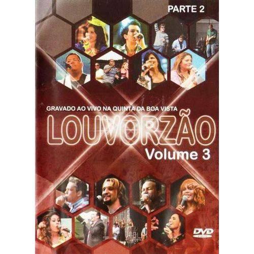 Dvd Louvorzão- Volume 3 - Parte 2
