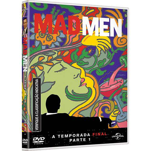 DVD - Mad Men: a Temporada Final - Parte 1 (3 Discos)