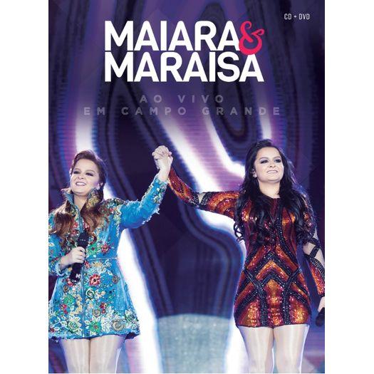 DVD Maiara & Maraísa - ao Vivo em Campo Grande (DVD + CD)