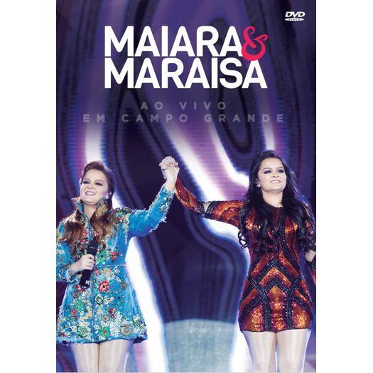 DVD Maiara & Maraísa - ao Vivo em Campo Grande