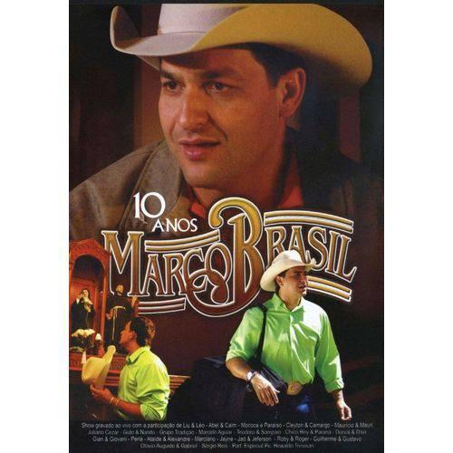 DVD Marco Brasil 10 Anos Original