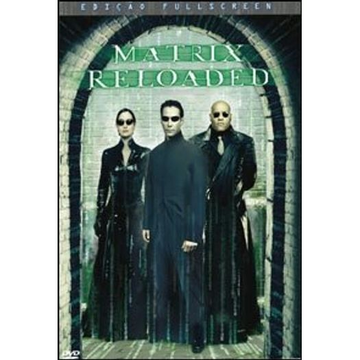 DVD Matrix Reloaded - Keanu Reeves