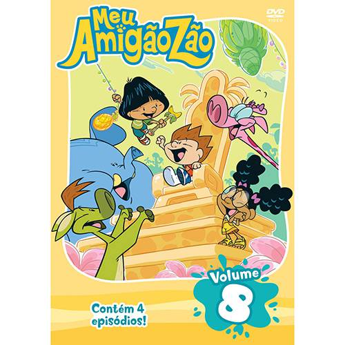 DVD Meu Amigãozão - Vol. 8