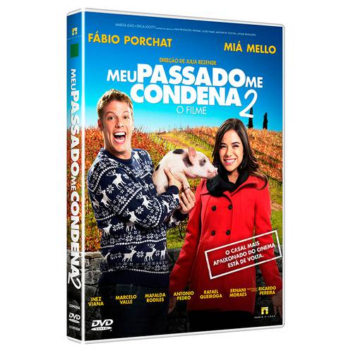 DVD Meu Passado me Condena 2