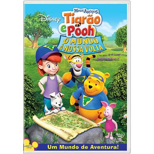 DVD Meus Amigos Tigrão e Pooh: o Mundo à Nossa Volta