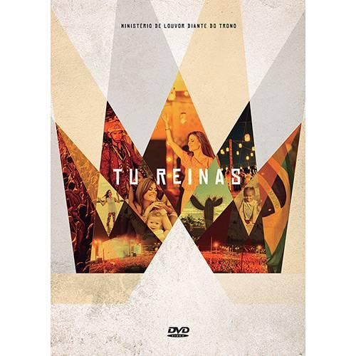DVD - Ministério de Louvor Diante do Trono - tu Reinas