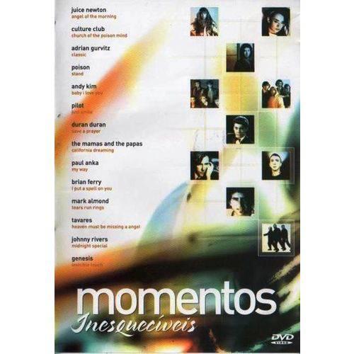 Dvd Momentos Inesquecíveis - Time Music