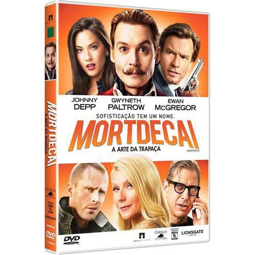 DVD Mortdecai - a Arte da Trapaça