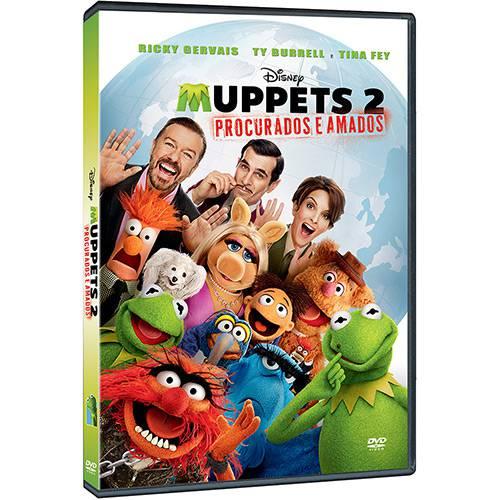 DVD - Muppets 2: Procurados e Amados