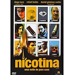 DVD Nicotina - uma Noite de Puro Caos